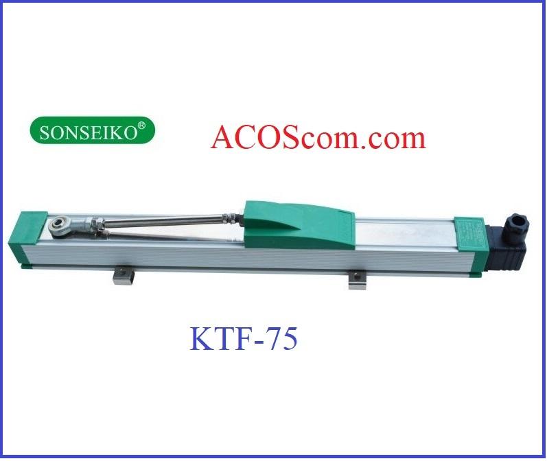 Thước máy nhựa KTF-75mm