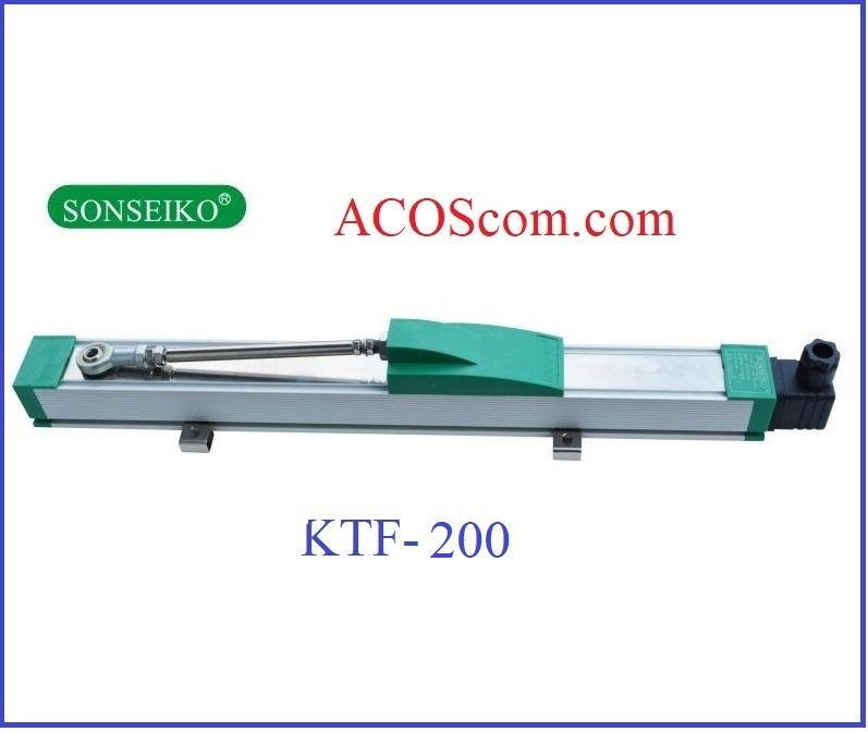 Thước máy nhựa KTF-200mm
